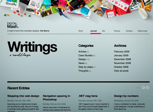 Дизайны сайтов примеры
